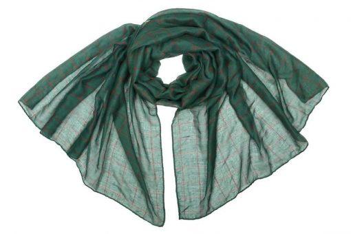 Палантин женский (зеленый)