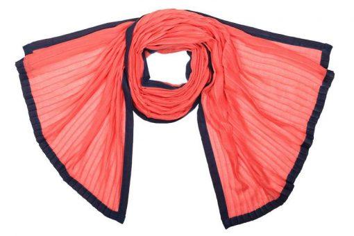 Палантин женский (розовый)